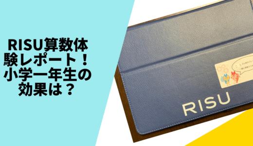 RISU算数(リス算数)の体験レポート!小学1年生の効果は?